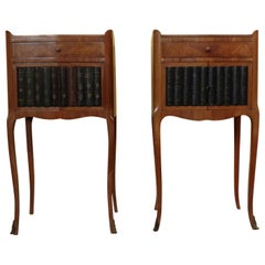 Pair of Rare Louis XV Style Bedside Cabinets