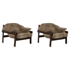 "Pair of Rare ""MP-41"" Armchair, Percival Lafer, Brazilian Mid-Century Modern"