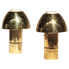 Pair of Rare Table Lamps Lights by Hans-Agne Jakobsson for AB Markaryd, Sweden