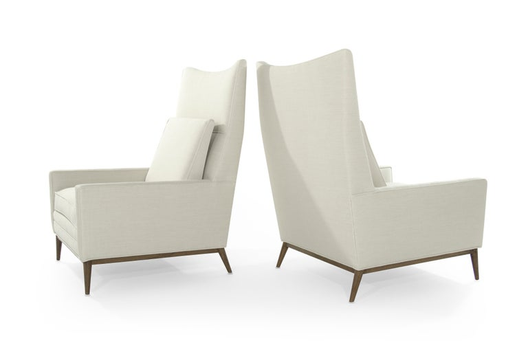 Mid-Century Modern Pair of Reading Lounges by Paul McCobb For Sale