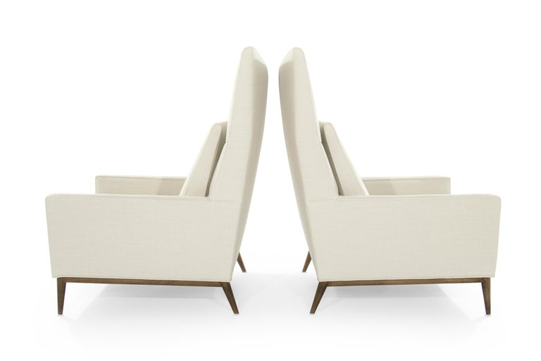 American Pair of Reading Lounges by Paul McCobb For Sale