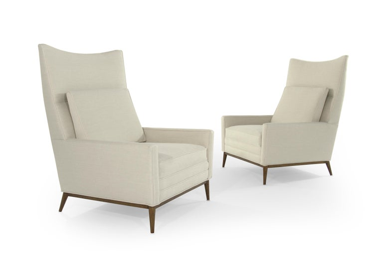 Pair of Reading Lounges by Paul McCobb In Excellent Condition For Sale In Stamford, CT