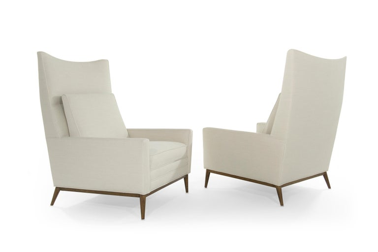 20th Century Pair of Reading Lounges by Paul McCobb For Sale