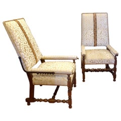 Pair of Reclining Plantation Chairs