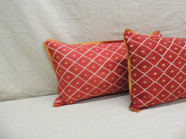 Moorish Pair of Red and Yellow