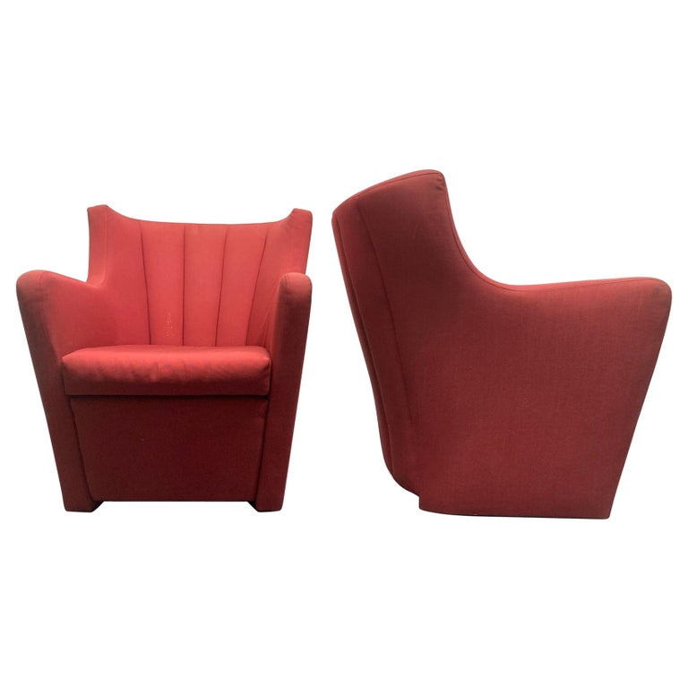 Pair of Redele Lounge Chairs by Gerrit Rietveld for Cassina For Sale