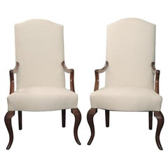 Pair of Referenced Armchairs by Jean-Charles Moreux