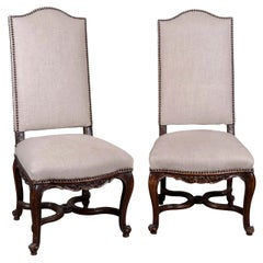 Pair of Régence Side Chairs