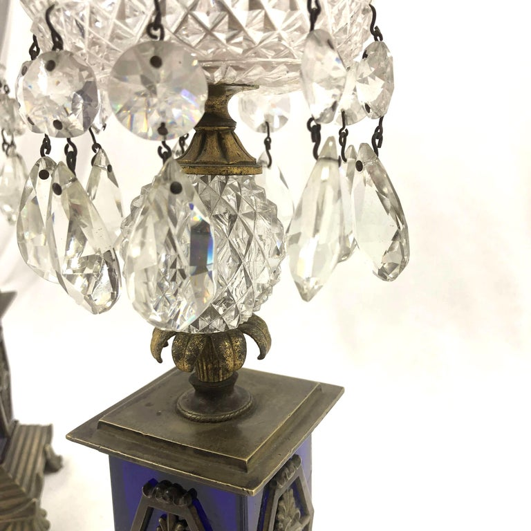 English Pair of Regency Candlesticks For Sale