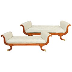 Pair of Regency Period Window Seats