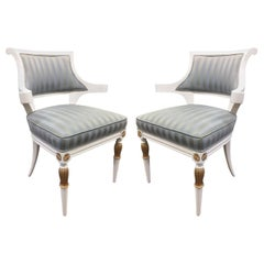 Pair of Regency Style Armchairs