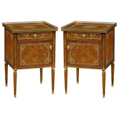 Pair of Regency Style Bedside Tables