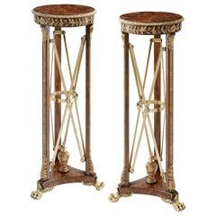 Pair of Regency Style Pedestals