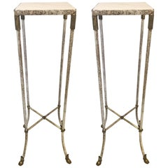 Pair of Regency Style Plant Stands/Pedestals