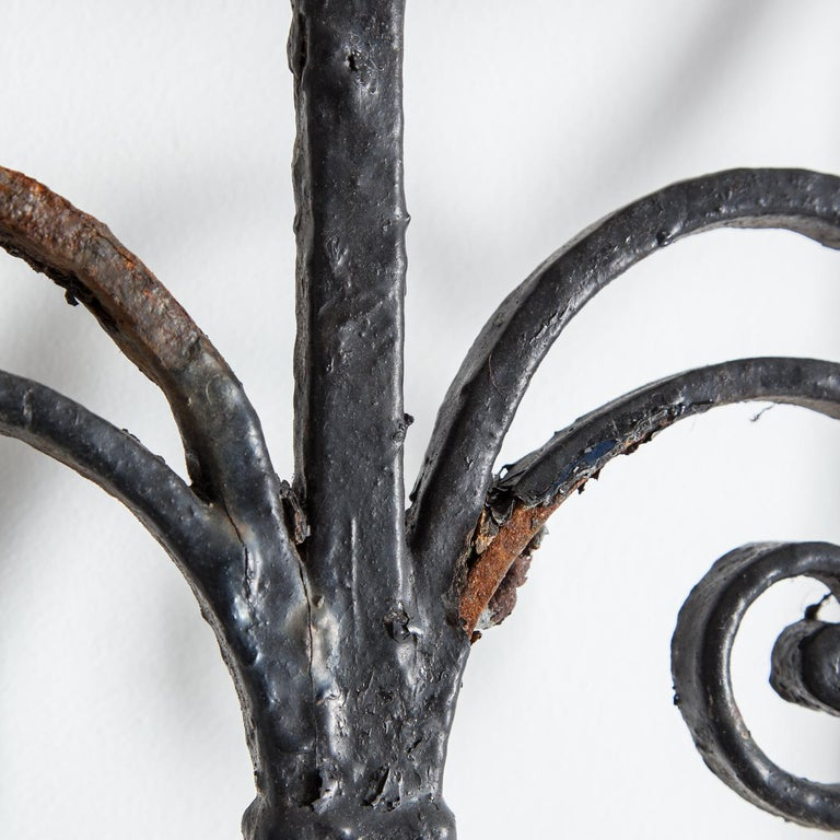 Pair of Regency Wrought Iron Gates, circa 1820 In Good Condition For Sale In York, GB
