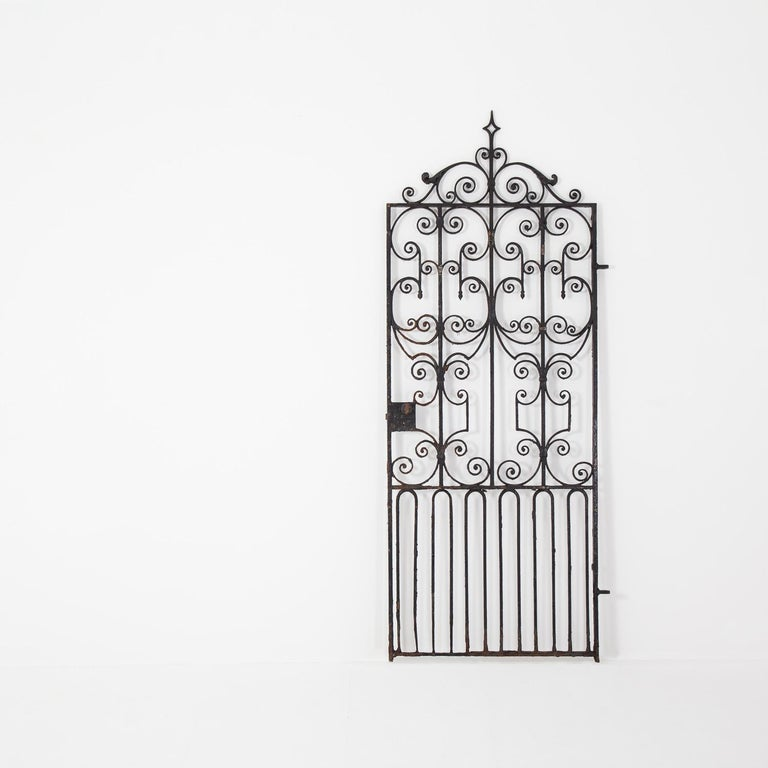 Pair of Regency Wrought Iron Gates, circa 1820 For Sale 2