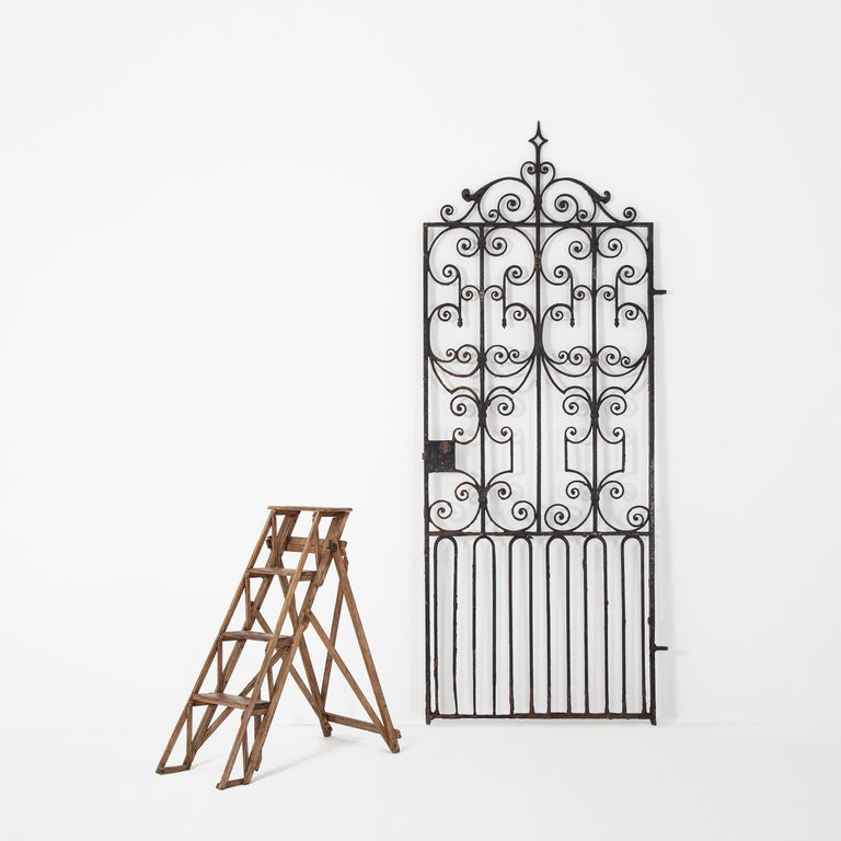 Pair of Regency Wrought Iron Gates, circa 1820 For Sale 3