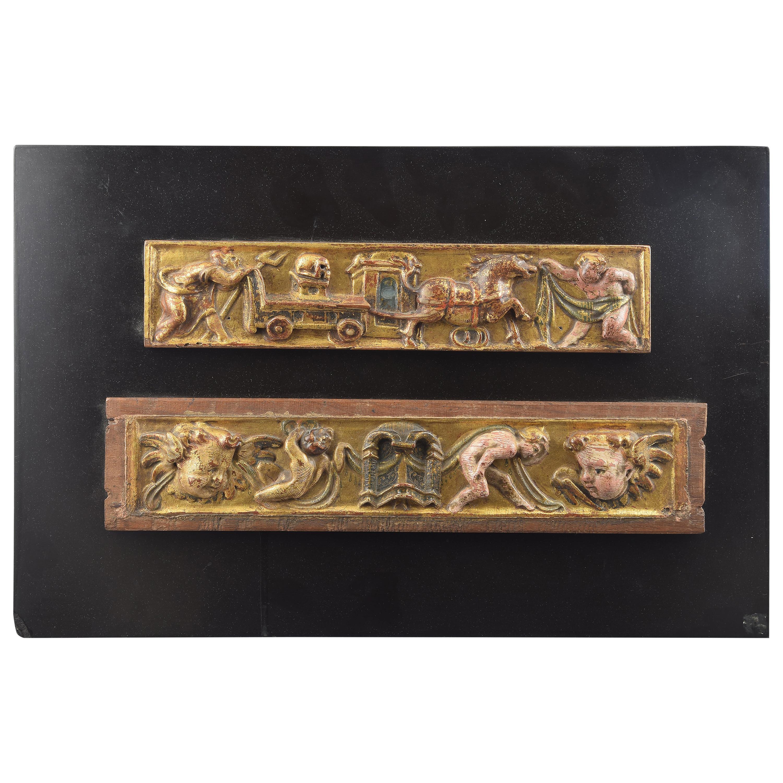 Pair of Reliefs, Castillian School, Spain, 16th Century
