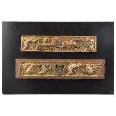 Pair of Reliefs, Castillian School, Spain, 16th Century