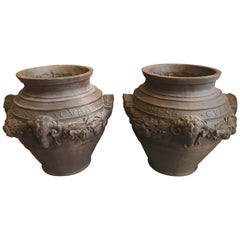 Pair of Reproduction Planters