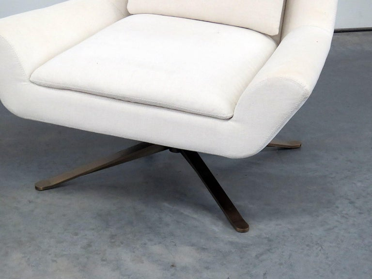 Super Pair Of Restoration Hardware Luke Swivel Chairs For Sale At Forskolin Free Trial Chair Design Images Forskolin Free Trialorg