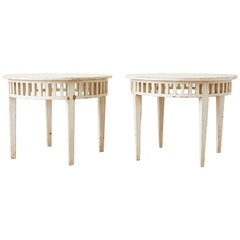 Pair of Richard Mulligan Distressed Centre or Side Tables