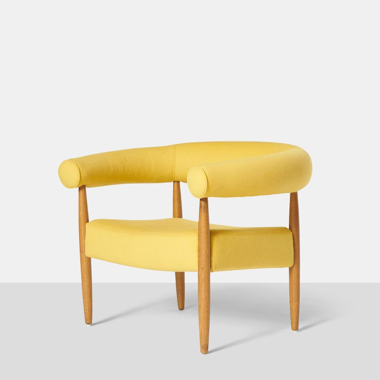 "Danish Pair of ""Ring"" Chairs by Nanna Ditzel For Sale"