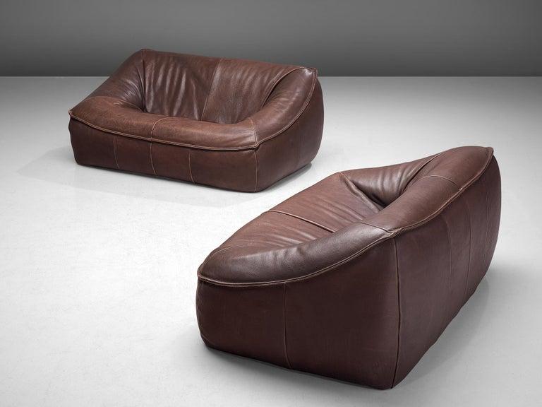 Mid-Century Modern Pair of 'Ringo' Sofa's by Gerard Van Den Berg for Montis