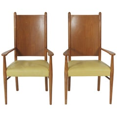Pair of Robsjohn-Gibbings Armchairs by Widdicomb