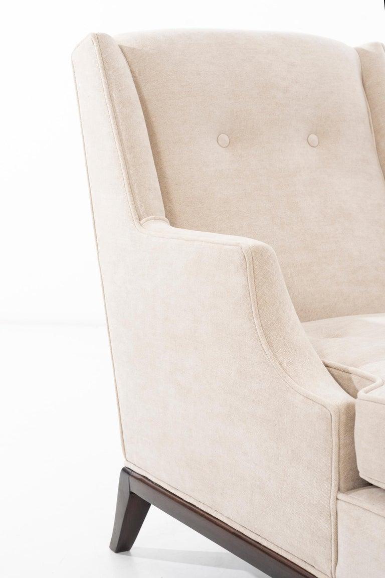 Pair of Robsjohn-Gibbings Chaise Longues For Sale 5