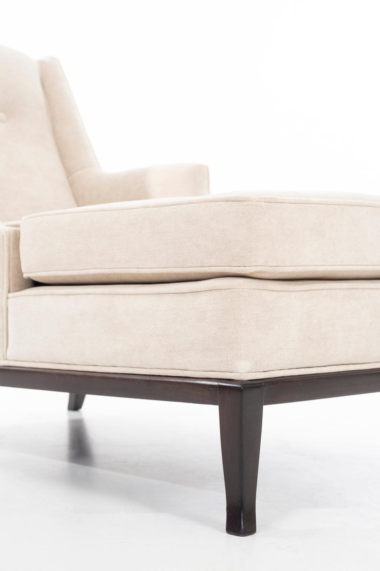 Pair of Robsjohn-Gibbings Chaise Longues For Sale 6