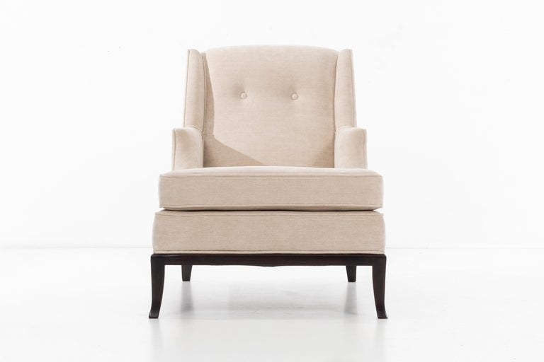 Mid-20th Century Pair of Robsjohn-Gibbings Chaise Longues For Sale
