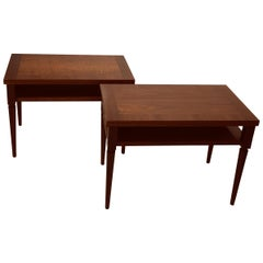 Pair of Robsjohn-Gibbings End Tables
