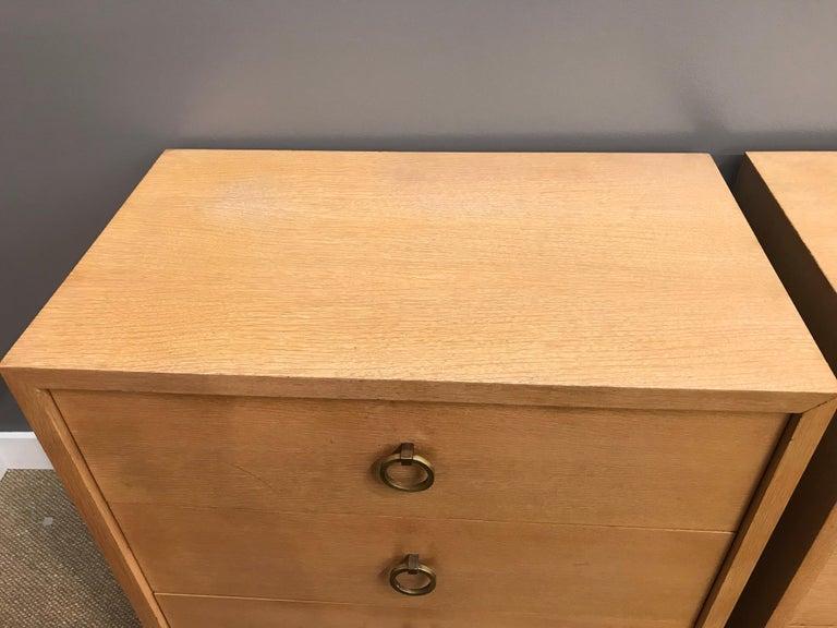 American Pair of Robsjohn Gibbings Mid-Century Modern Dressers Chest of Drawers For Sale