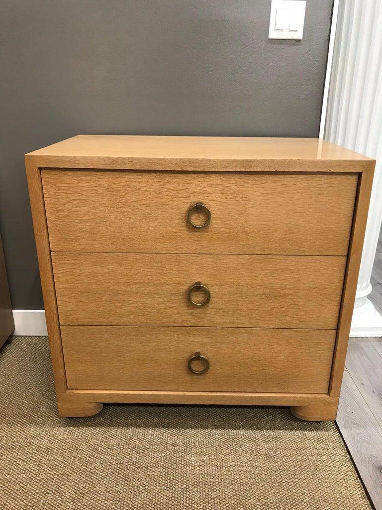 Pair of Robsjohn Gibbings Mid-Century Modern Dressers Chest of Drawers For Sale 2