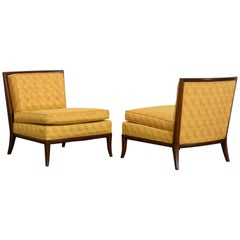 Pair of Robsjohn Gibbings Style Lounge Chairs, 1960s