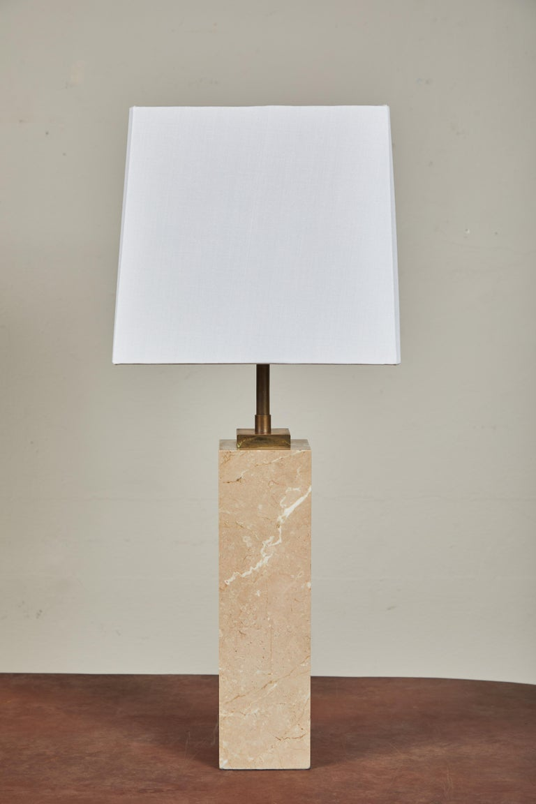 American Pair of Robsjohn-Gibbings Table Lamps For Sale