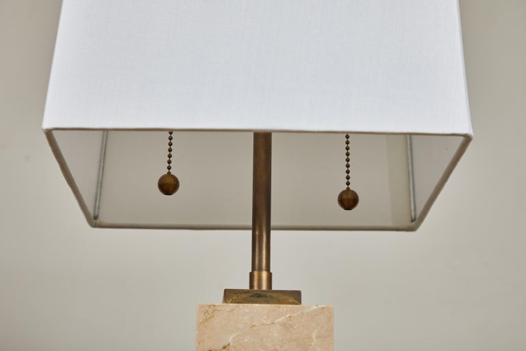 Hand-Crafted Pair of Robsjohn-Gibbings Table Lamps For Sale