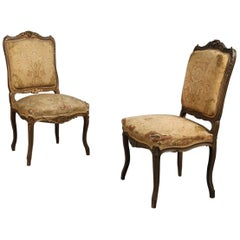 Pair of Rococo Chairs, Early 19th Century