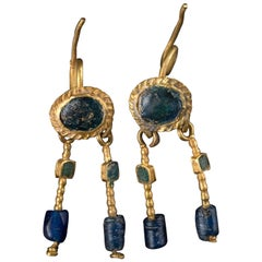 Pair of Roman Gold Earrings 2nd-3rd Century AD, Provenance
