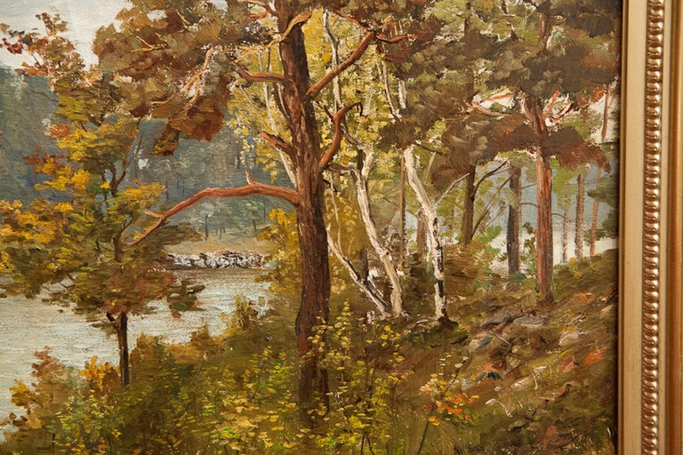 20th Century Pair of Romantic Paintings