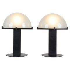Pair of Ron Rezek Table Lamps
