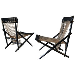 Pair of Rope Chairs by Maruni, circa 1955