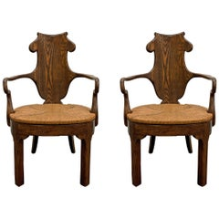 Pair of Rose Tarlow Henley Armchair