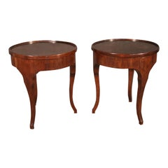 Pair of Rose tarlow Melrose House French Art Deco Style End Side Tables