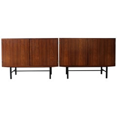 Pair of Rosewood Cabinets by Poul Hundevad, Denmark, 1960s
