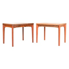 Pair of Rosewood Henning Kjaernulff Side Tables
