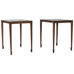 Pair of Rosewood Side Tables by Bernt Petersen