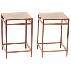 Pair of Rosewood Side Tables by Willy Beck, Denmark, 1950s
