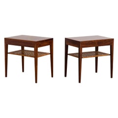 Pair of Rosewood Tables by Severin Hansen